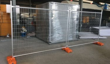 Installed panel - Ashmic Steel And Fencing | Security Fencing Malaysia