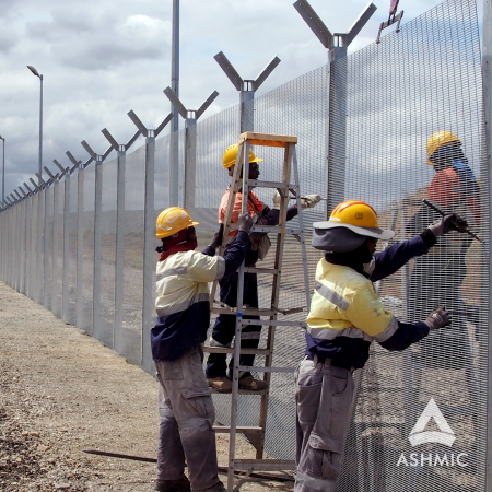 Ashmic Steel And Fencing | Security Fencing Malaysia